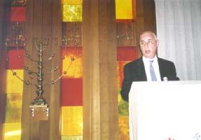 The Hon Petro Georgiou opens the JECO eco festival