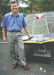 ACF CEO Don Henry approves of sun powered transport