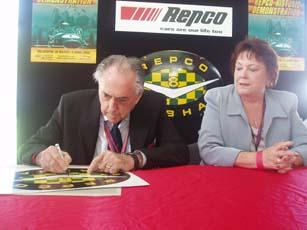 Sir Jack Brabham, Aurora's patron
