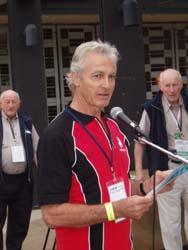 Greenfleet patron Peter Brock