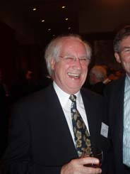 David Lamb of CSIRO at the Leader's Dinner