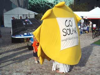 Yep we are going solar