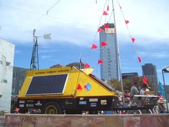 ATA against the Melbourne skyline