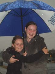 Enjoying the rain?