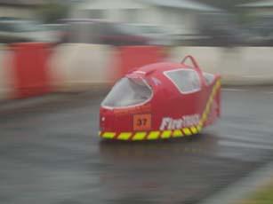 Firetruck, sixth place