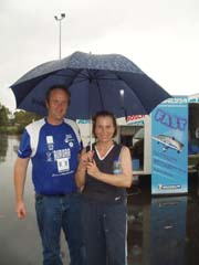 Andrew Lamb with Susan Davies